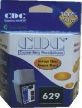 Cartucho de Tinta CDC 51629 Black Compatível p- HP Deskjet 600c   660c   660cse   670c   672c   680
