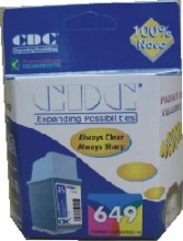 Cartucho de Tinta Cdc 51649A Color Compatuvel p- HP Deskjet 600 | 600c | 660 | 660c | 692c | 693c
