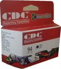 Cartucho de Tinta CDC C8765W (94) Preto compatível p- 6520 | 6540 | 6620 | 6840 | 7850 | 8150