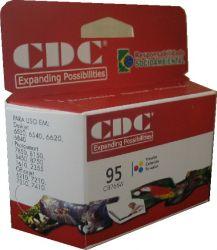 Cartucho de Tinta CDC C8766W (95) Color compatível p- 6520 | 6540 | 6620 | 6840 | 7850 | 8150