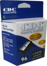Cartucho de Tinta CDC C8767W (96) Preto compatível p- 5940 | 6520 | 6540 | 6620 | 6840 | 9800