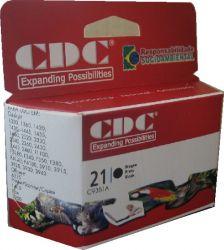 Cartucho de Tinta Cdc C9351A (21XL) preto Compativel p- HP 3910   3920   3930   3940   D1360   D1460   D15