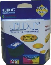 Cartucho de Tinta Cdc C9352A (22XL) Color Compativel p- HP 3910 | 3920 | 3930 | 3940 | D1360 | D1460