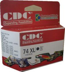 Cartucho de Tinta CDC CB336WL (74XL) Preto compatível p- C4260 | C4280 | C5280 | D4260 | J5780.