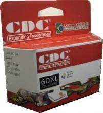 Cartucho de Tinta Cdc CC644WL(60XL) Color Compativel