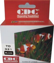 Cartucho de Tinta Cdc Epson TO321 / TO322 / T0323 / TO324 compativel p- Stylus C80,C70,C82 | CX5400 | C5100 | CX5200