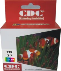 Cartucho de Tinta CDC Epson TO37020 Compativel p- Stylus C42SX | C42UX.