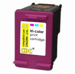 Cartucho de Tinta CDC HP 61XL Color 13 ml | CH562WN | Compatível