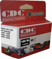 Cartucho de Tinta CDC Hp 122 XL Preto 13 ml | CH563HB | Compatível