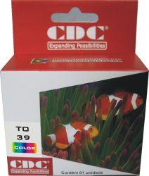 Cartucho de Tinta Epson Cdc TO39020 Compativel p- Stylus C43SX | C43UX | C45 | CX1500.