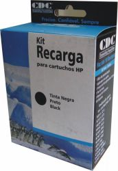 KIT DE RECARGA DE CARTUCHO PRETO