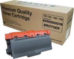 Toner Brother TN-720 | TN-750 | TN-780 | DCP-8110DN HL-5450DN MFC-8950DW | Compatível  | 8k